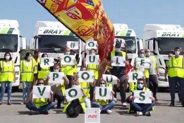 Les Transports Bray rendent hommage aux soignants